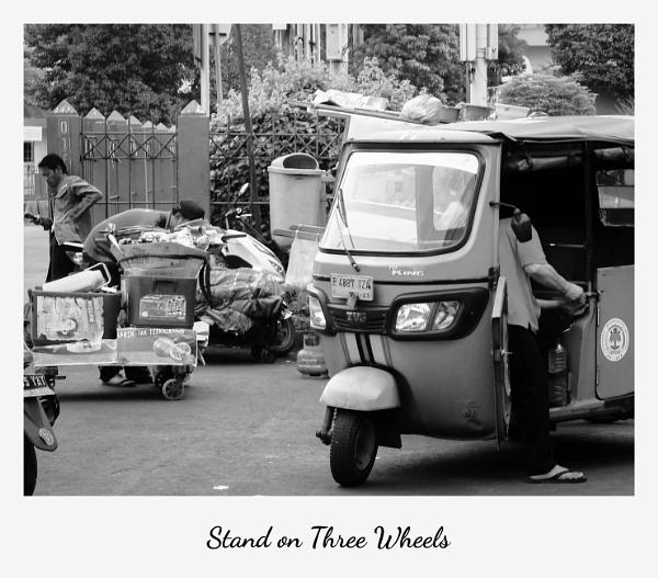 Stand on Three Wheels by Von_Herman