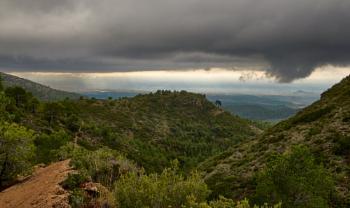A view from the Serra Calderona