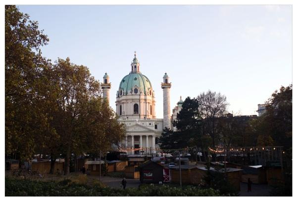 The Karlskirche by bliba
