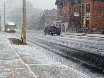 LET IT SNOW ON JAMES ST S in HAMILTON, ONTARIO # 1