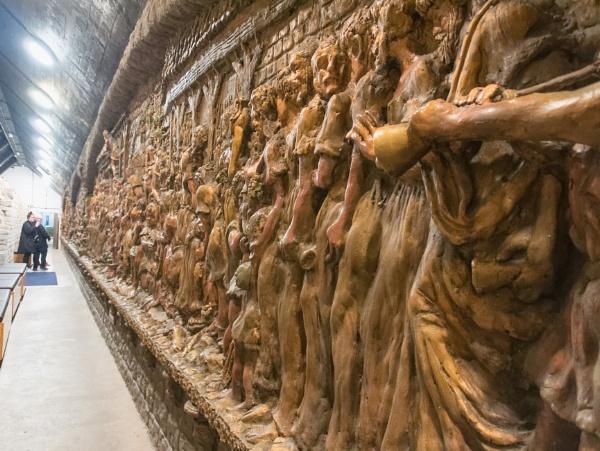 A sculptured Mural by franken