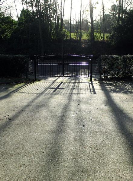 Church Gates by helenlinda