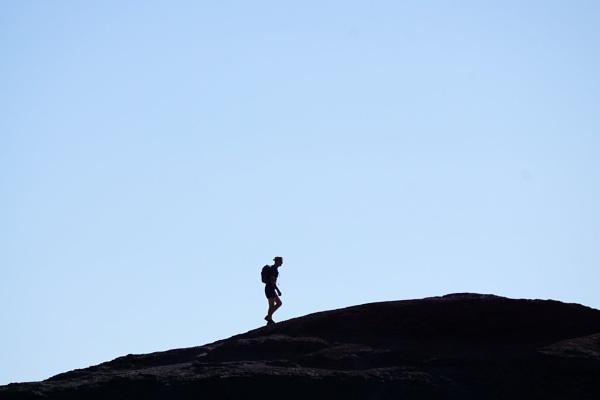 Lone Walker by Silverzone