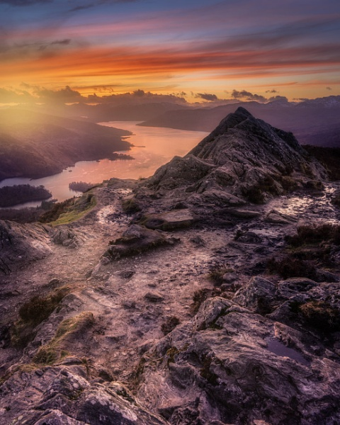 Ben A\'an Sunset by Mark_Callander