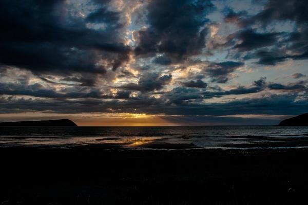 Sunset, Newport by woodini254