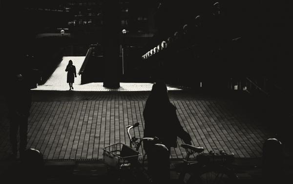 sun in the town by mogobiker