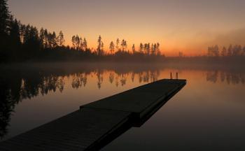 Midnight in Finland