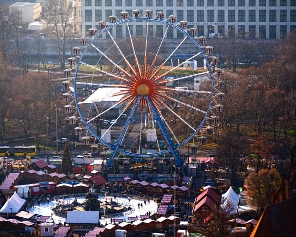 Christmas Market Berlin by FotoDen