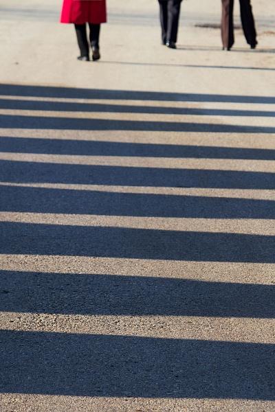 Shadow walk by LaoCe