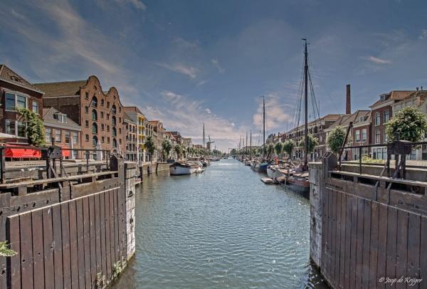 Historic Delfshaven, Rotterdam by joop_
