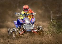 Four Wheel Dirt Track