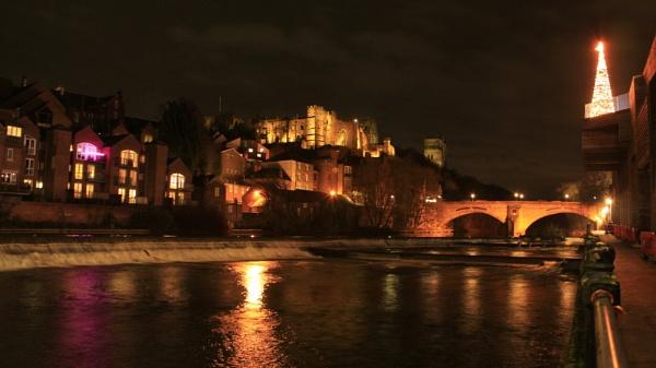 Durham at Christmas by shedhead