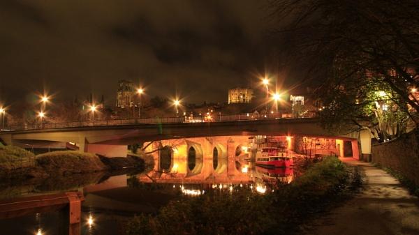 Durham at Night by shedhead