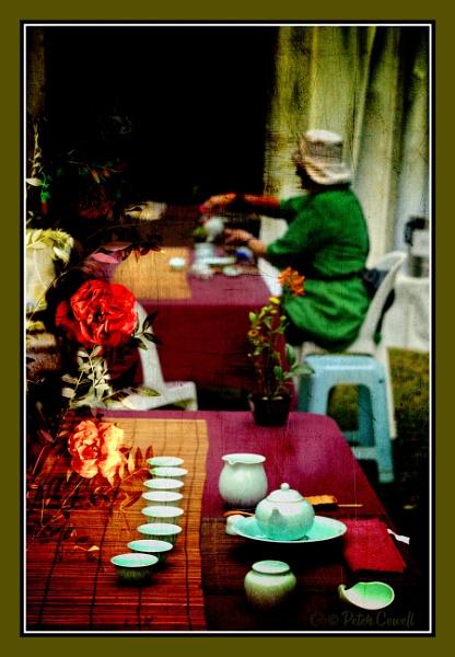 Inside the Tea Room by Peco