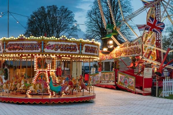 Merry go round by Johnpics