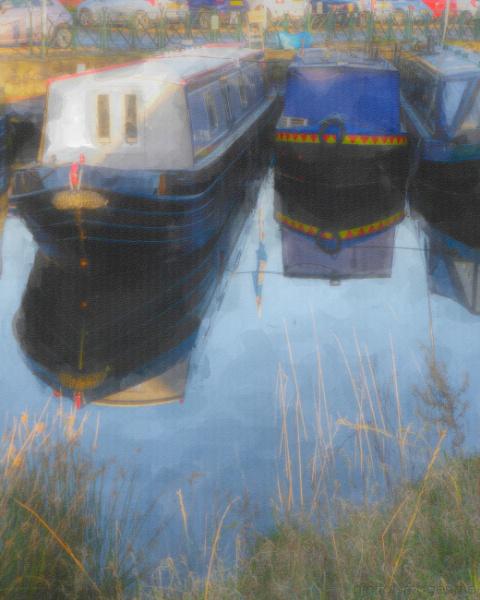 Canal Basin Reflections by Alan_Baseley
