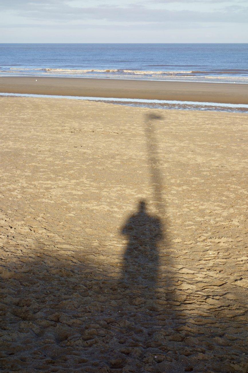 Saturday shadow selfie