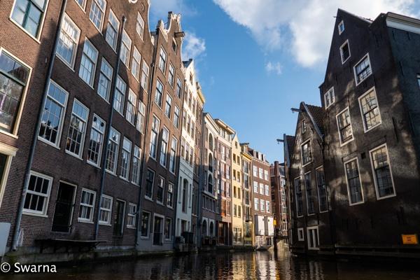 Canal Tour III, Amsterdam by Swarnadip