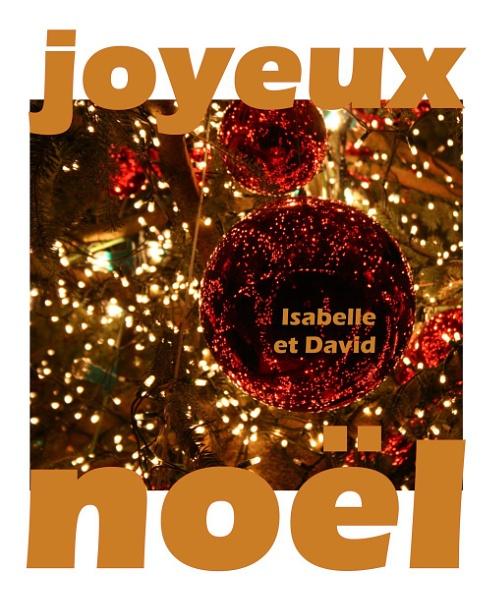 Joyeux Noel by chataignier