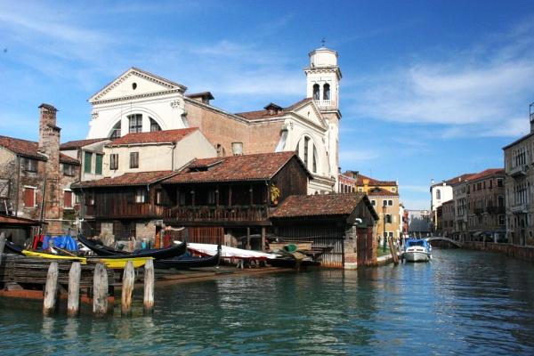 Venetian Boatyard by mikekay