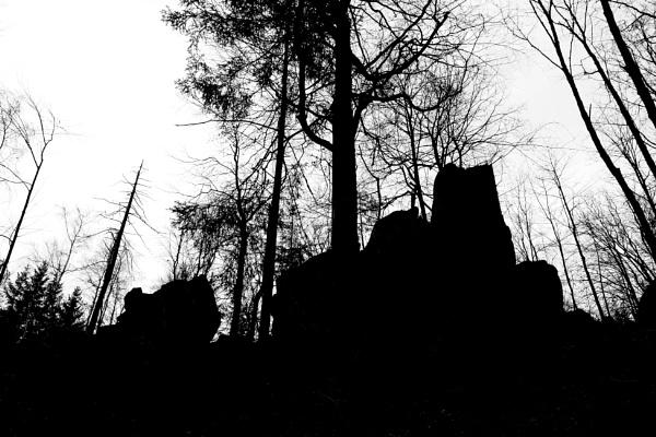 Rock castle by konig