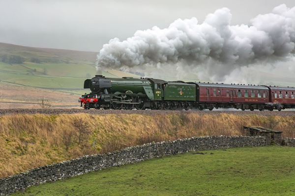 Flying Scotsman at selside by STUARTHILL758