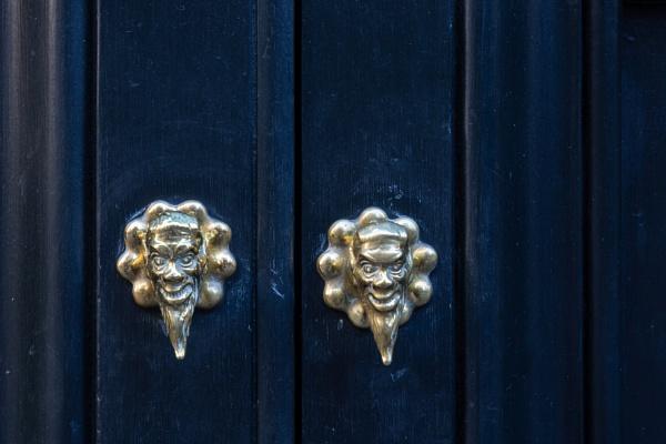 Metal door handles by rninov