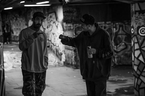 Skateboarders by Les_Cornwell