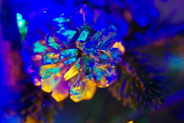 Christmas Cone abstract by Kako
