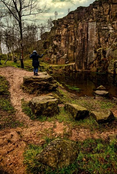 Bolehill Quarry by mmart