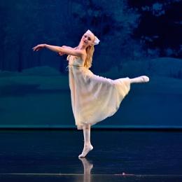 Teagan Marchuk dances as Clara