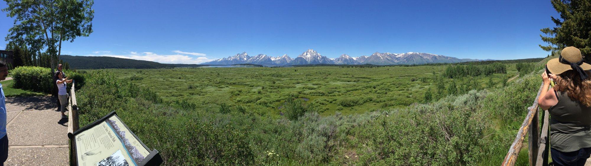Grand Teton Panoramic
