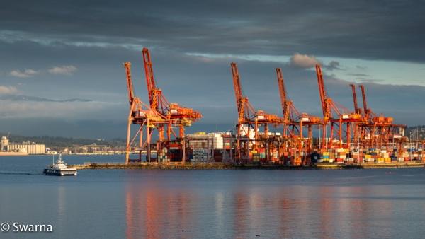 Vancouver Port... by Swarnadip