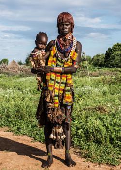Traditional Turmi Woman - Southern Ethiopia