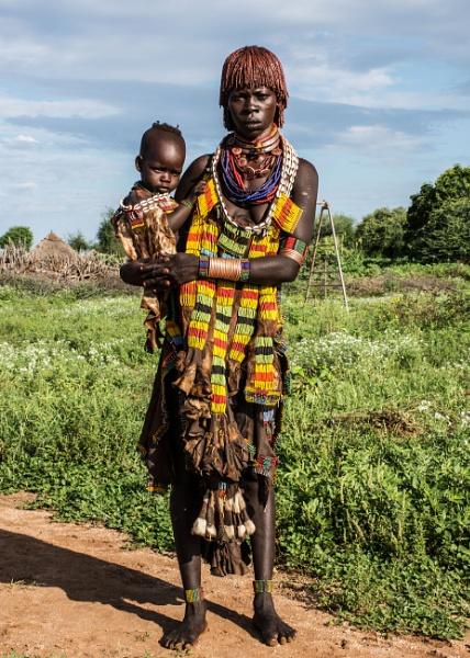 Traditional Turmi Woman (2) - Southern Ethiopia by barryyoungnz
