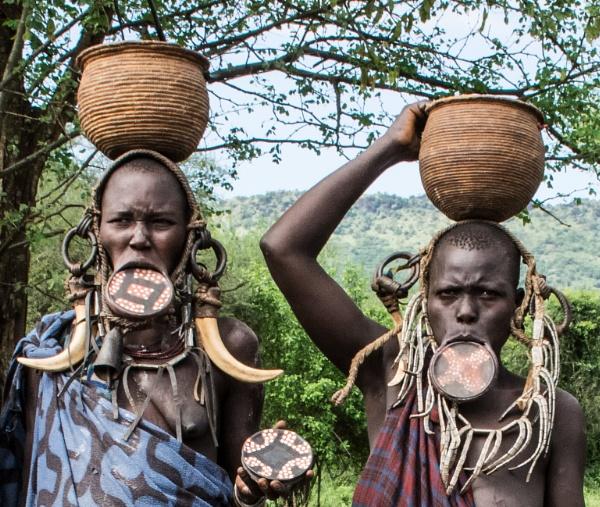Mursi Women (1) - Southern Ethiopia by barryyoungnz