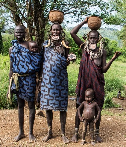 Mursi Women (2) - Southern Ethiopia by barryyoungnz