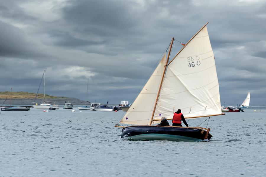 Sailing in the Torridge and Taw Estuary