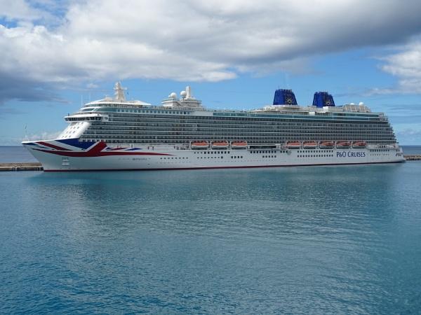 P & O Britania, Bridgetown, Barbados. Su. 05/01/2020 from our ship (TUI Explorer 2) by YoungGrandad