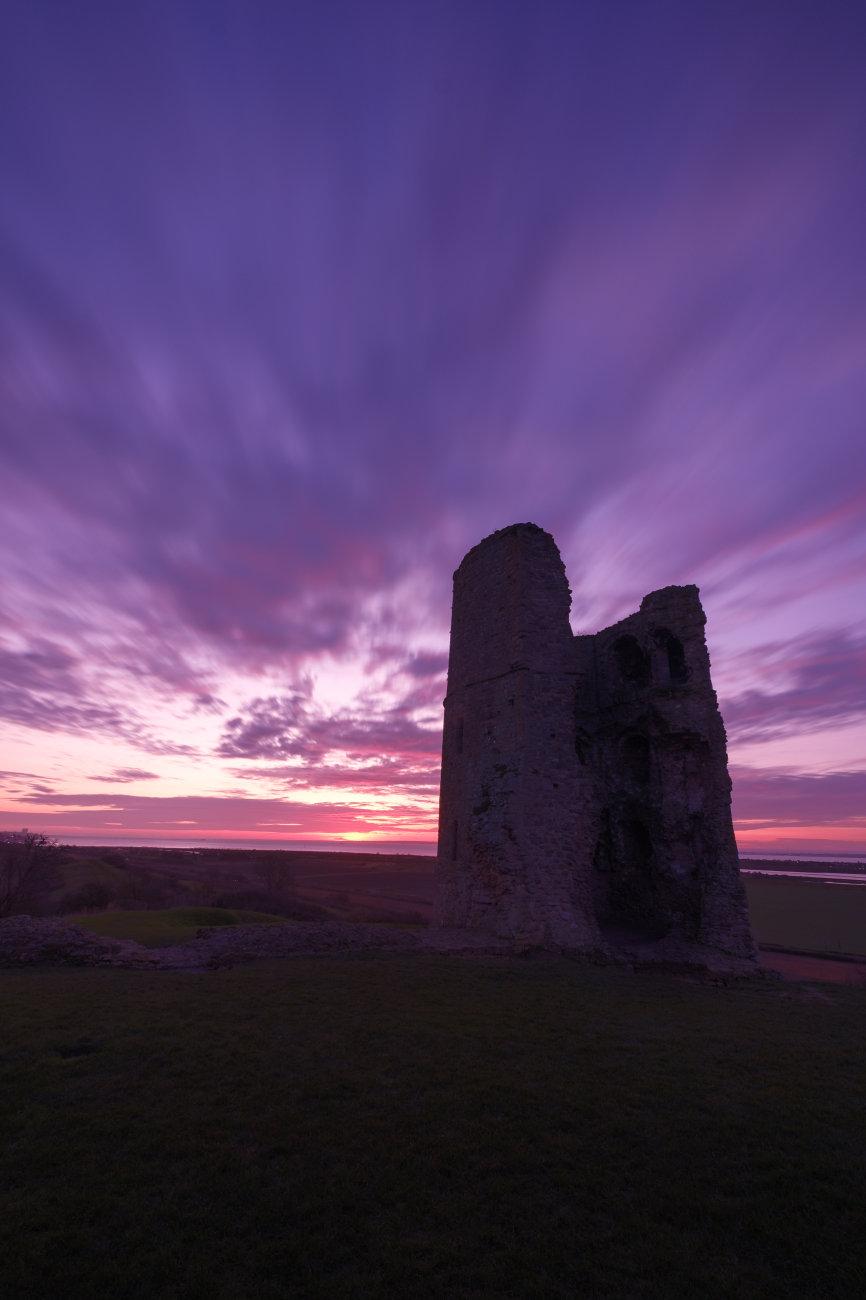 Hadleigh castle sunrise