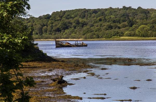 Wreck at West Loch Kintyre by Irishkate