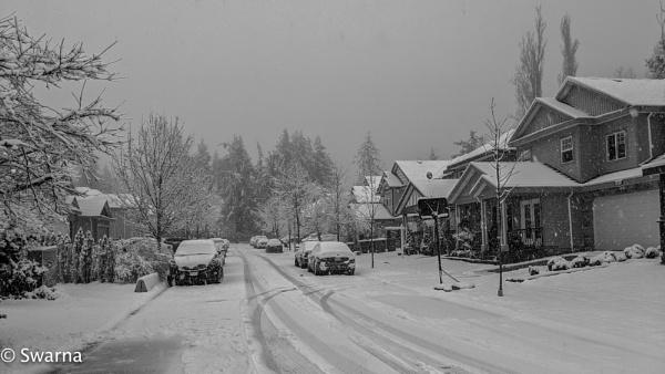 First Snow... by Swarnadip