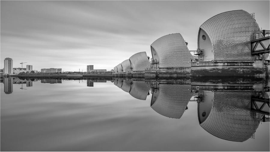 Thames Barrier Reflection