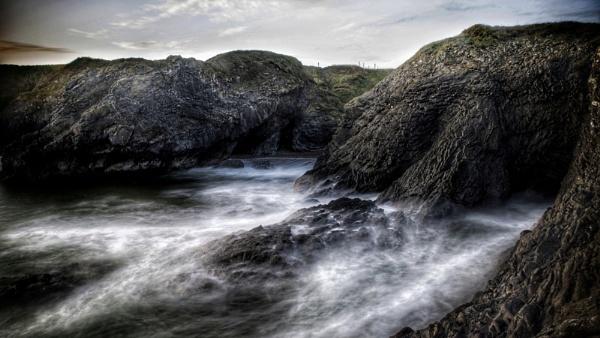 Cliff Side Walk by Derek897