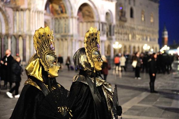 Venice Carnival by argento