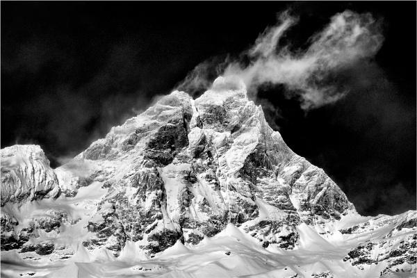 Matterhorn and mist