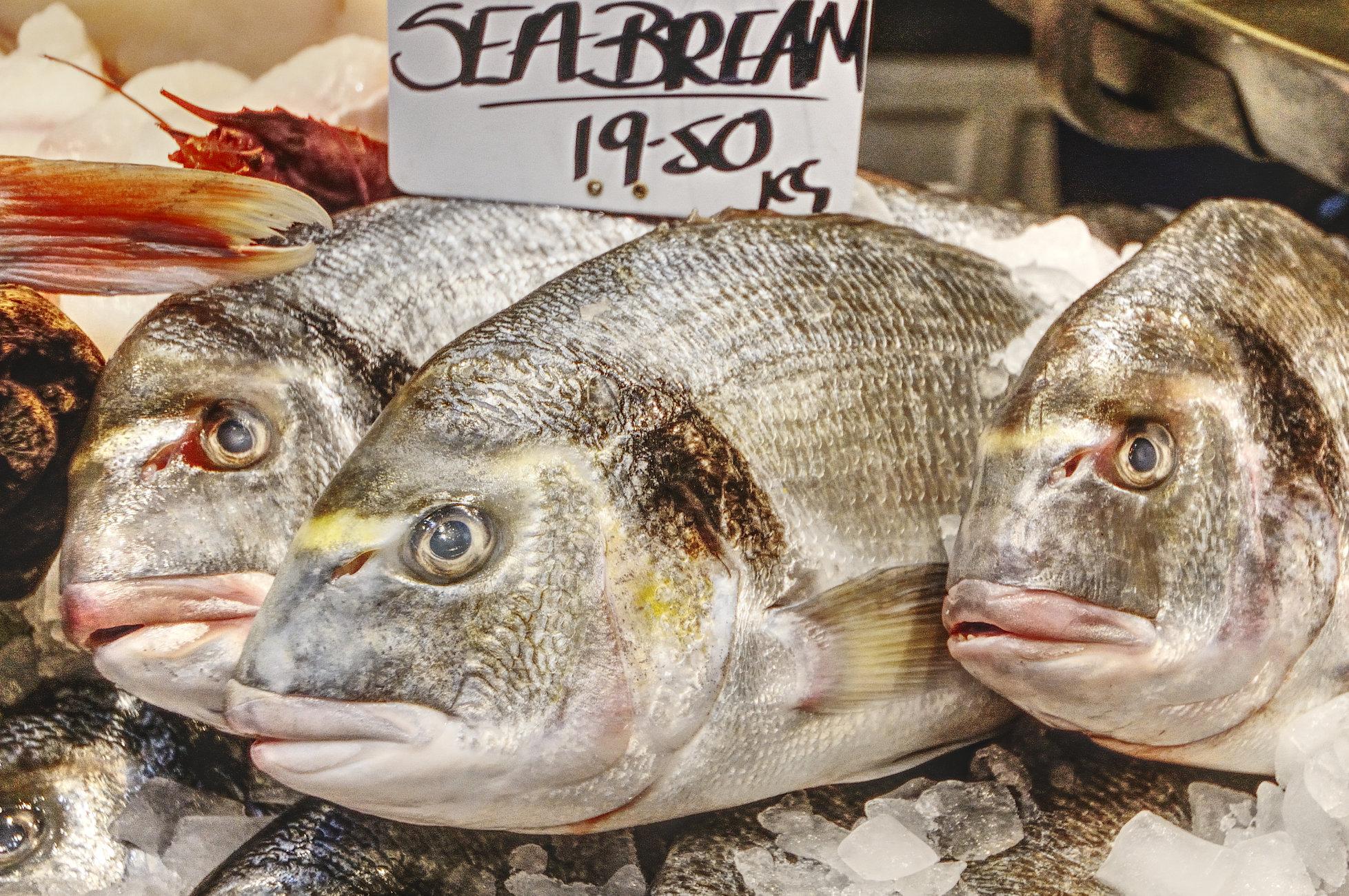 Sea Bream - Borough Market