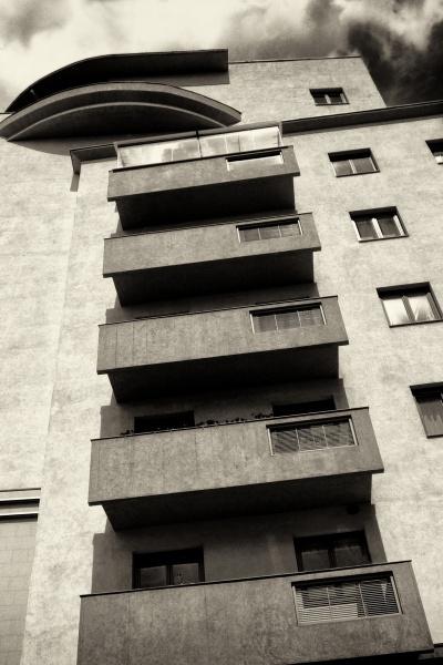 residential brutalism * by leo_nid