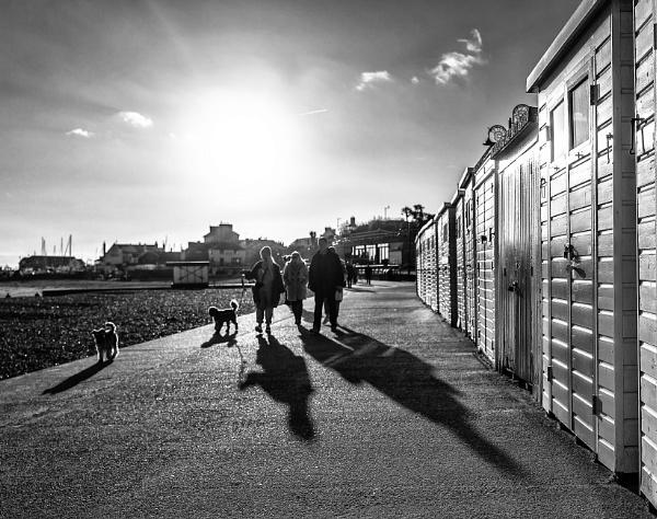 Marine Parade, Lyme Regis by starckimages