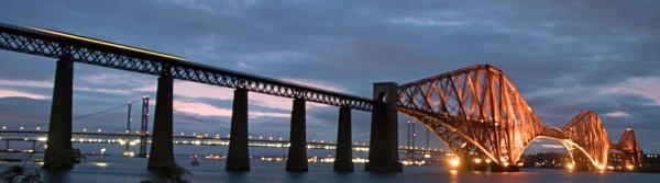 Forth RailBridge. Scotland. by Adrian57